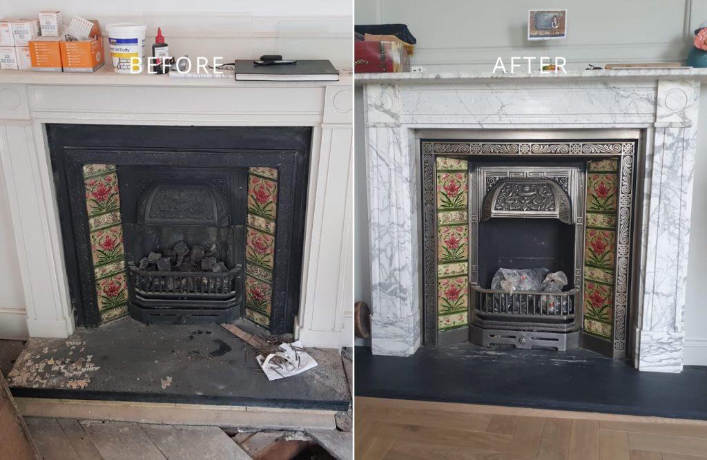 Image of Regency Tiler restoration